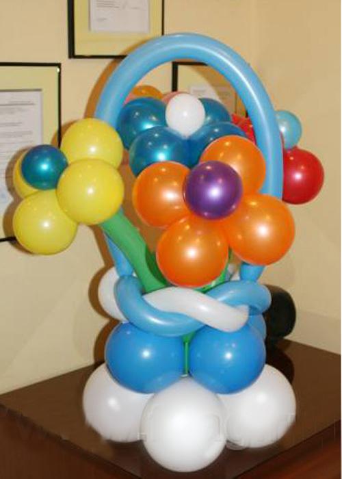 Круг из шаров своими руками